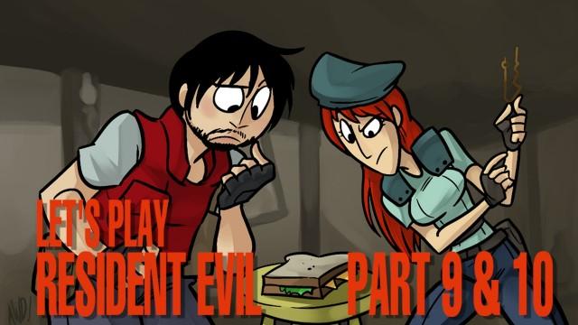 Resident Evil LP Part 9 & 10