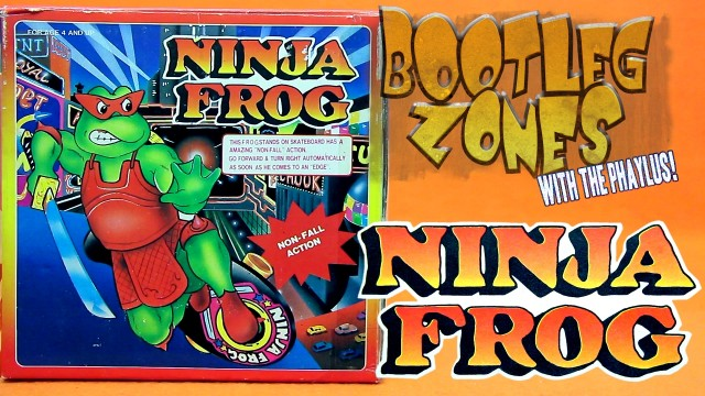 bz ninja frog