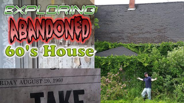 abandoned 60's house