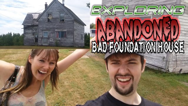 abandoned bad foundation house