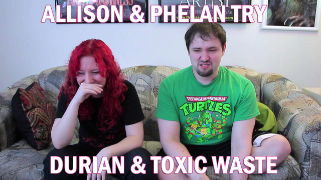 Phelan & Allison Try Durian and Toxic Waste While Doing You a Flavor!
