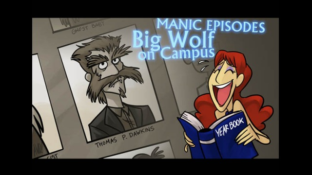 ME: Big Wolf on Campus