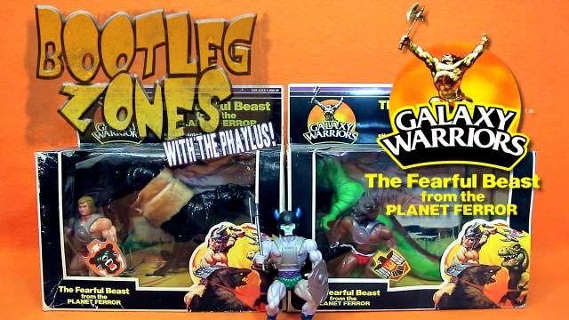 Bootleg Zones: Galaxy Warriors Beasts