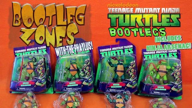 Bootleg Zones: Nickelodeon TMNT Bootlegs