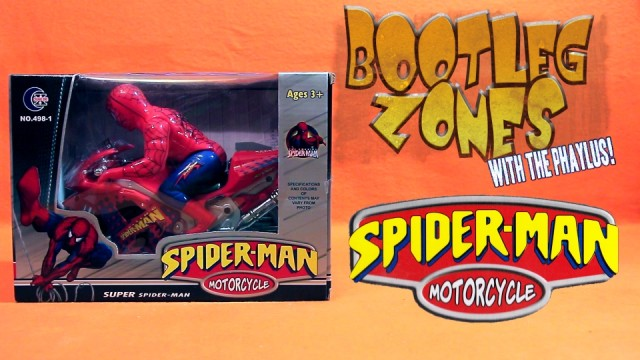 Bootleg Zones: Spider-Man Motorcycle