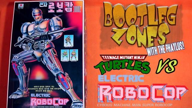 Bootleg Zones: TMNT VS Robocop