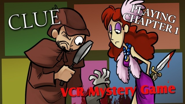 Clue VCR Mystery Game - Ch 1 & Making Fun of the Rest