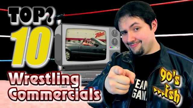 Top 10 Wrestling Commercials